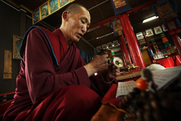 Буддийский лама. Фото: Алексей Бушов