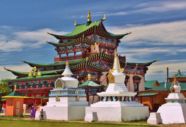 Храм Даши-Доржо Итигэлова. Фото: wikipedia.org, Аркадий Зарубин