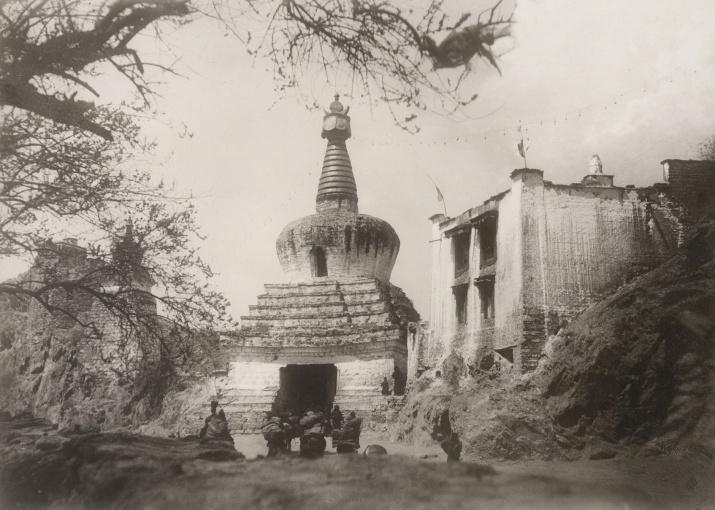 Фотография Гомбожаба Цыбикова. Фото из Научного архива РГО