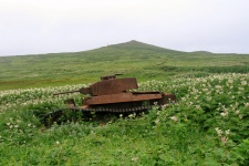 Vestiges of World War II combats