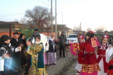 Встреча в селе Новодмитриевка