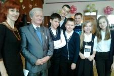 Юрий Васильевич Ефремов с гостями лекции