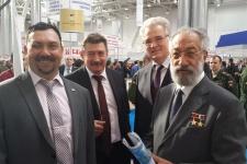 А.Е. Чилингаров и представители Омского отделеиня РГО