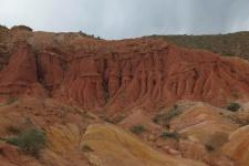 Каньоны Конорчек в Киргизии. Фото предоставлено Н. Филипповой