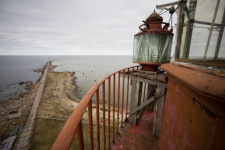 The sight from the lighthouse of the Seskar Island. Photo by Andrew Strelnikov