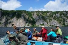 Буксировка катамаранов на Юмагузинском водохранилище