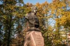 Nikolai Przewalski's monument in St. Petersburg