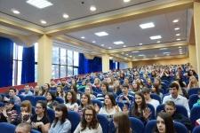 """Участники первой профильной смены РГО в ФДЦ """"Смена"""""""
