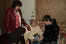 Вручение юбилейных медалей ветеранам ВОВ