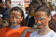 Day of the tiger in Vladivostok