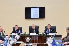 Первое заседание Попечительского совета Саратовского областного отделения Русского географического общества