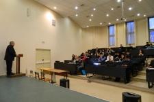 Встреча руководства Якутского отделения Русского географического общества со студентами Института естественных наук СВФУ