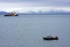 Гидрологические исследования в проливе Певек