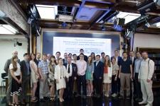 Участники первого заседания Молодёжного интеллектуального клуба. Фото: Алёна Александрова