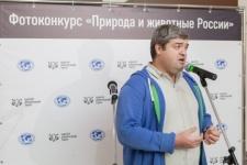 Sergei Dolya at the opening ceremony