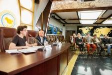 Церемония подписания Соглашения с издательством «Слово» о совместной  подготовке к изданию «Библиотеки  русских путешествий»