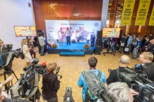 "The opening of the annual national photo exhibition ""Wild Nature of Russia - 2014"""
