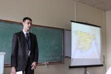 Выступление участника конференции с докладом: ''Испания: культура и традиции''