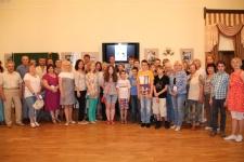 Участники вечера ''Вслед за путеводной звездой''. Фото: Олег Авдеев