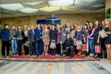 Коллективное фото победителей и организаторов