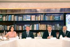 Пресс-конференция, посвящённая II Фестивалю РГО. Фото: Николай Разуваев