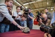 Челябинский метеорит. Фото: Илья Мельников