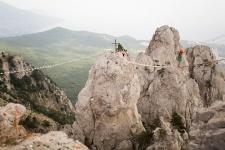Знаменитые зубцы могучей горы Ай-Петри. Фото: Алиса Гулканян