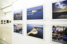 The exposition of the «Three colors of Crimea» exhibition. Photo by Nikolay Razuvayev