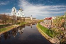 Псковский кремль. Фото: Антон Агарков