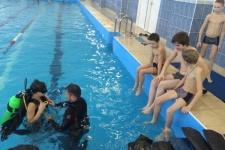 Пробное погружение в воду для воспитанников ГБУ «Чистопольский детский дом»