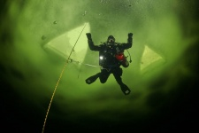 Максим Астахов и Александр Губин отрабатывали глубину 60 метров