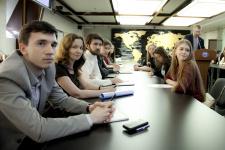 Заседание Молодёжного интеллектуального клуба РГО