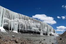 Ледник. Фото предоставлено организаторами Гляциологического симпозиума