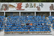 Участники смены РГО в Артеке, 2016. Фото: Виктор Затолокин