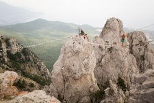 Горный туризм в Крыму. Фото: Алиса Гулканян