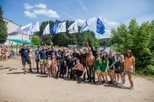 В экологической акции приняли участие аквалангисты и жители города