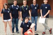 Команда России на географической олимпиаде школьников стран Балтийского региона