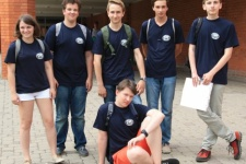 The team of Russia at the geographical Olympiad of the Baltic region