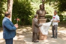 Открытие бюста В.М.Головнину на Аллее путешественников в Рязани