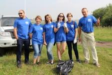Волонтеры и сотрудники Экспедиционного центра РГО СФО. Фото: Оксана Прокопова
