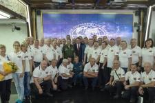 Встреча в Штаб-квартире РГО заслуженных спасателей России с Президентом  Общества Сергеем Кожугетовичем Шойгу