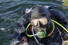 Подводные исследователи из отряда имени космонавта Алексея Леонова