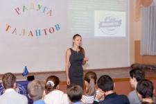 На встрече со школьниками Симферопольской школы №26 в рамках выездного Лектория (Фото Токорев С.)