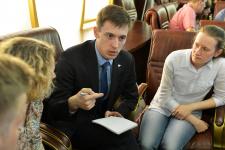 Заседание Молодежного интеллектуального клуба