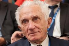 Почетный Президент Общества, Председатель Комиссии по развитию туризма Владимир Михайлович Котляков. Фото: Илья Мельников