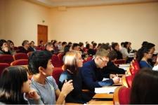 Студенты ОГУ отвечают на вопросы Всероссийского географического диктанта