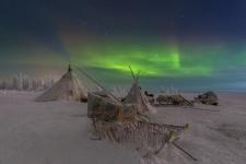 Мгновения полярной ночи. Фото: Кирилл Уютнов