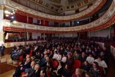 Торжественный прием, посвященный юбилейной дате, состоялся в Краснодарской филармонии. Фото:Виктор Затолокин
