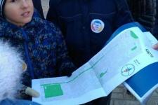 Для ориентирования участники использовали городские карты