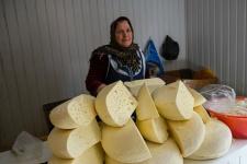 Дагестанский сыр на прилавке сельского магазина. Фото предоставлено Дагестанским республиканским отделением РГО